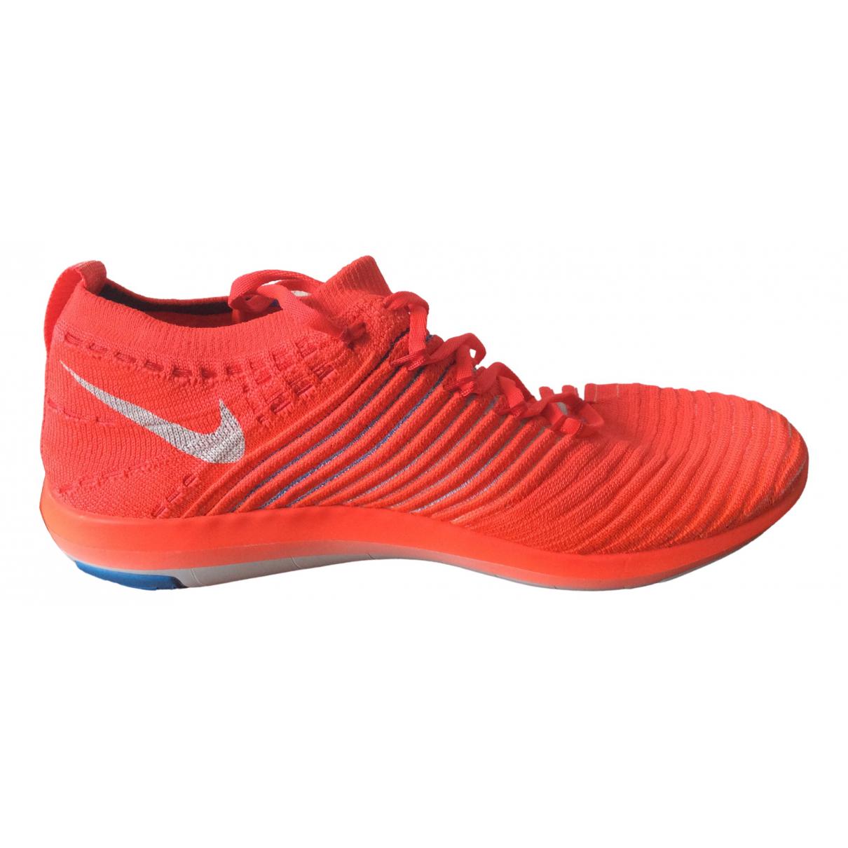 Nike - Baskets Flyknit Racer pour femme en toile