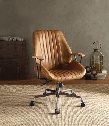 BM163558 Metal & Leather Executive Office Chair  Coffee