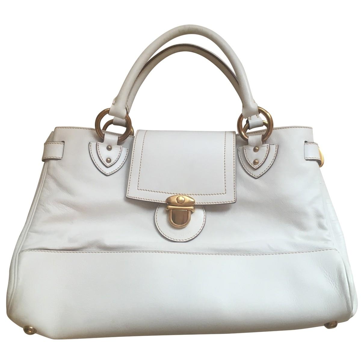 Marc Jacobs \N White Leather handbag for Women \N