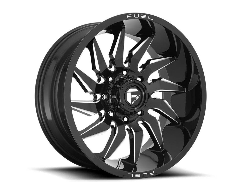 Fuel D744 Saber Wheel 20x10 5x5.0 -18 Gloss Black Milled