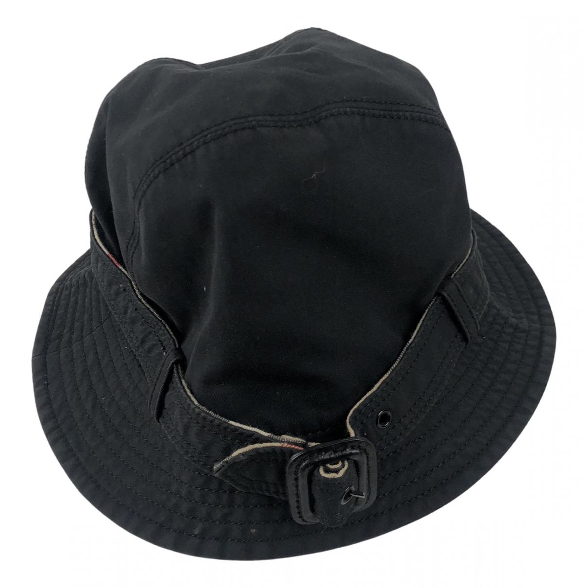 Burberry - Chapeau & Bonnets   pour homme - noir