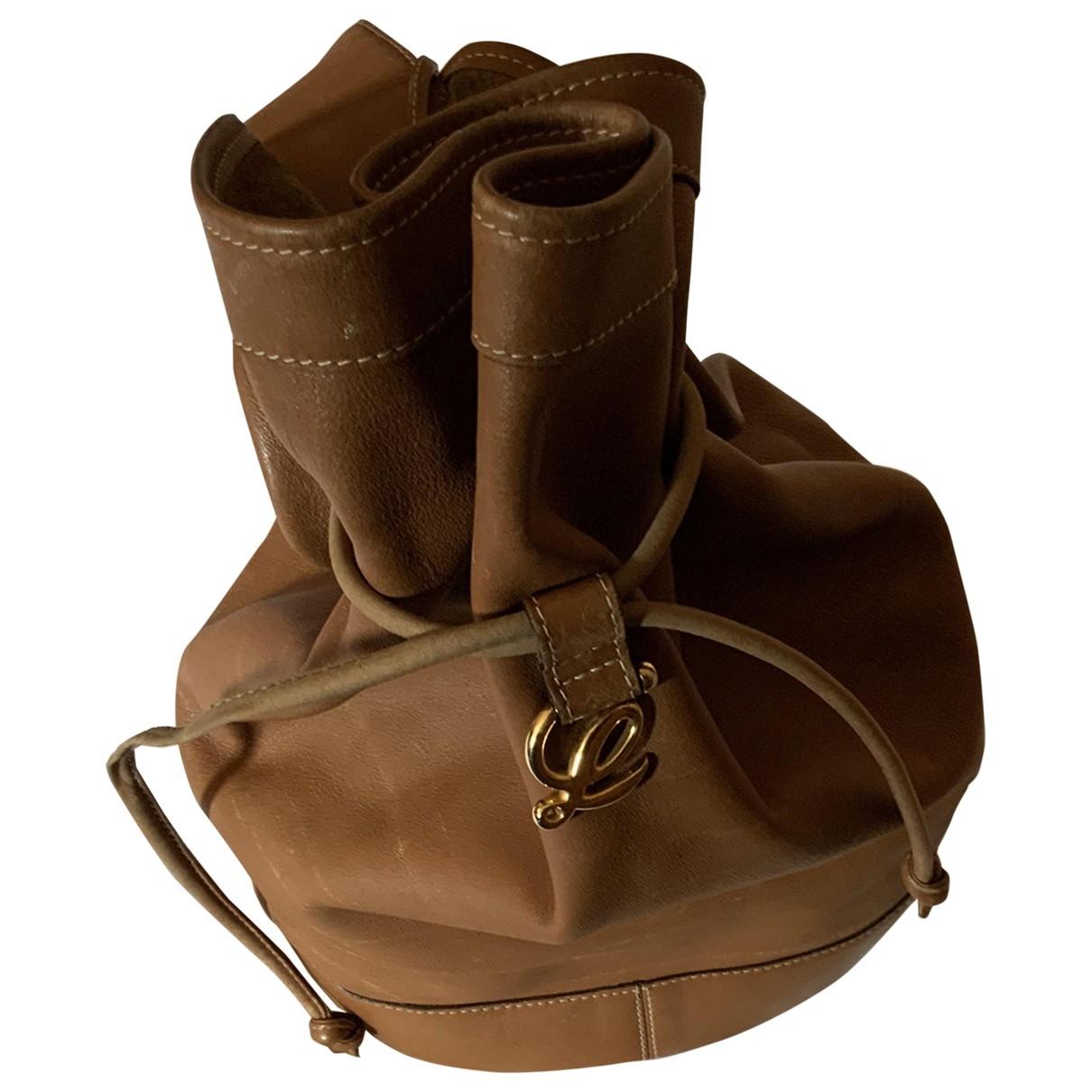 Loewe \N Camel Fur handbag for Women \N