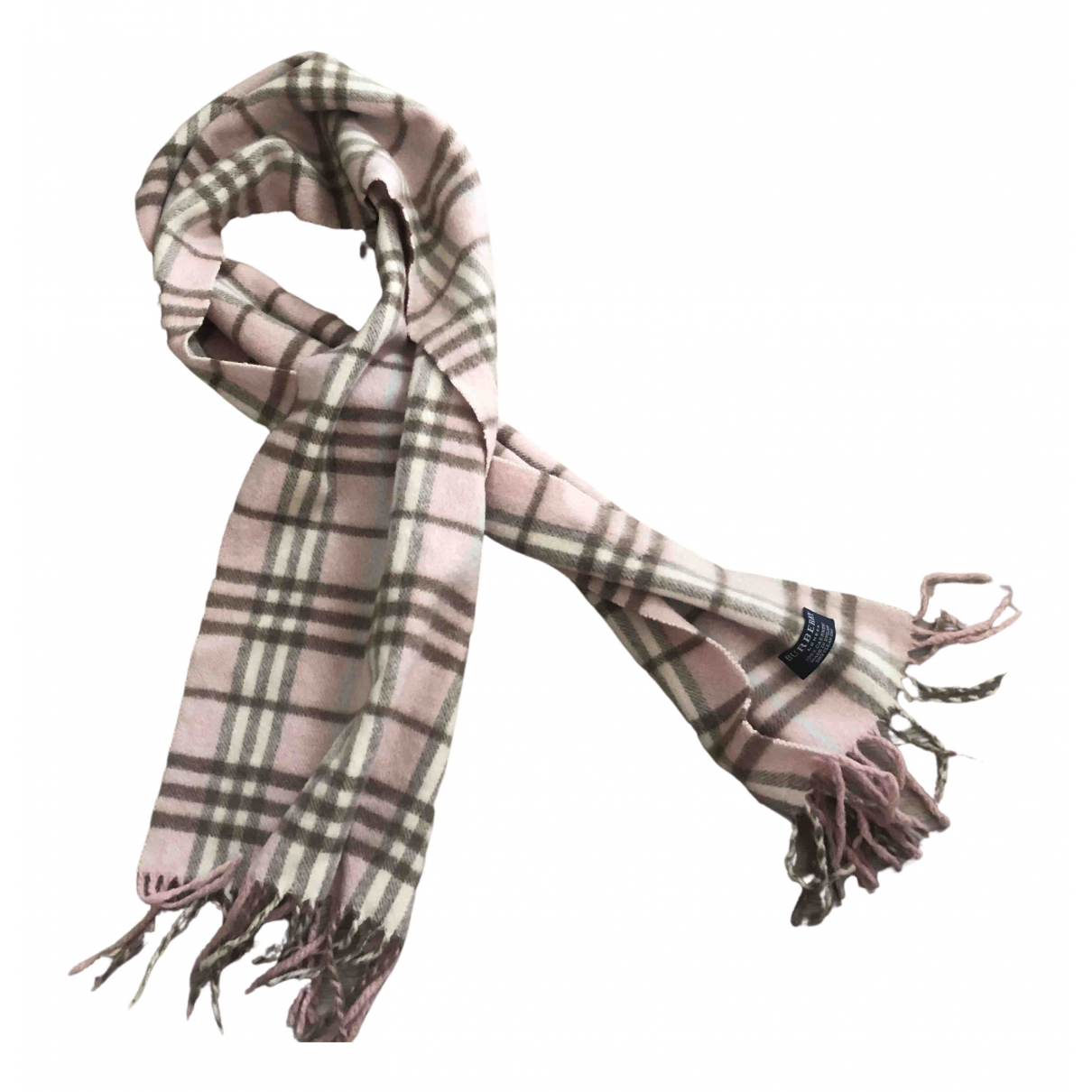 Burberry N Pink Cashmere scarf for Women N