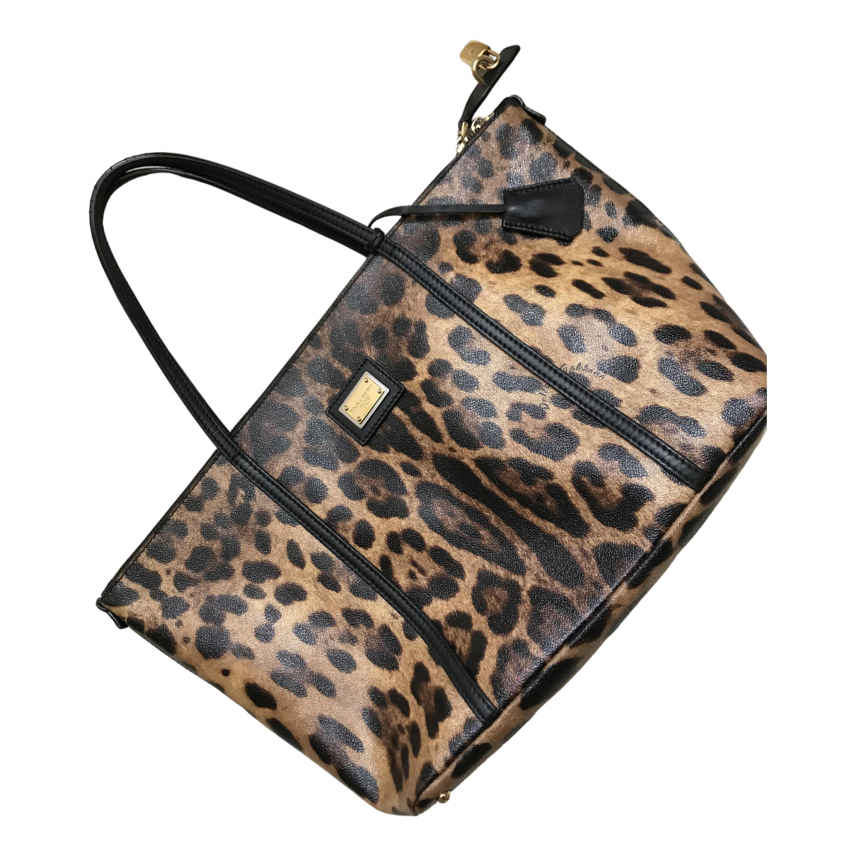 Dolce & Gabbana N Brown Leather handbag for Women N