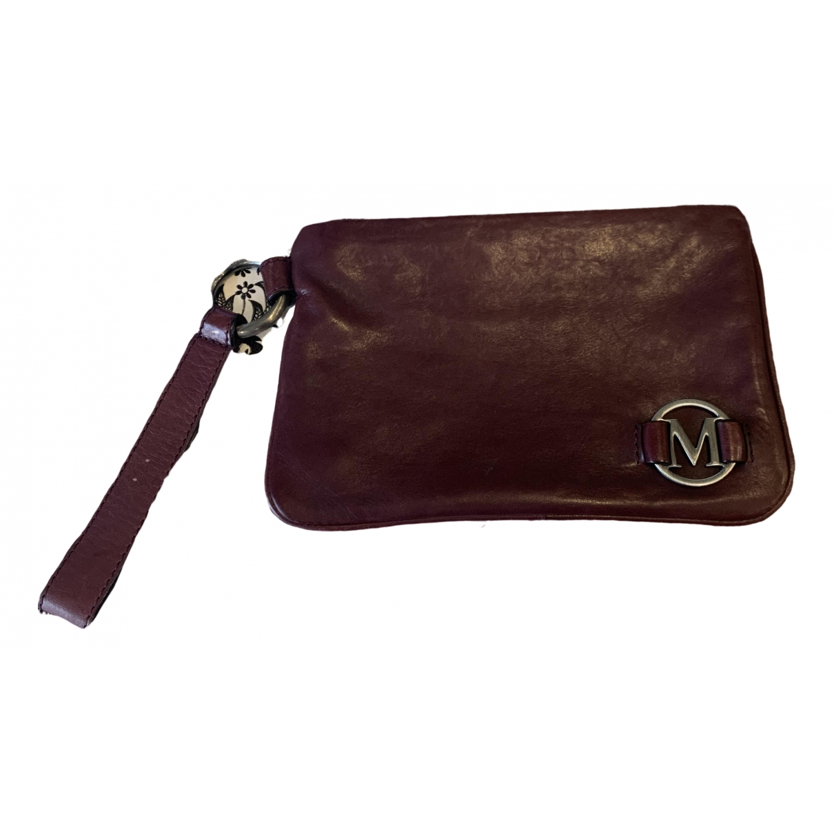 Max Mara \N Burgundy Leather Purses, wallet & cases for Women \N