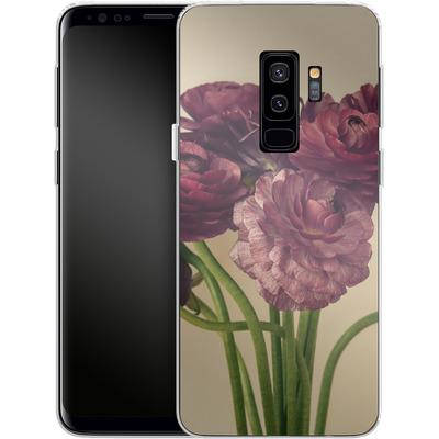 Samsung Galaxy S9 Plus Silikon Handyhuelle - Purple Ranunculus 4 von Joy StClaire