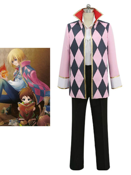 Milanoo Howl's Moving Castle Howl Halloween Cosplay Costume Halloween