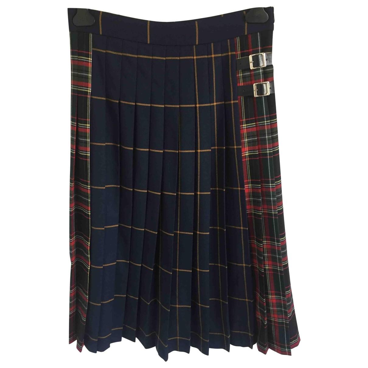 Zara \N Multicolour Wool skirt for Women S International