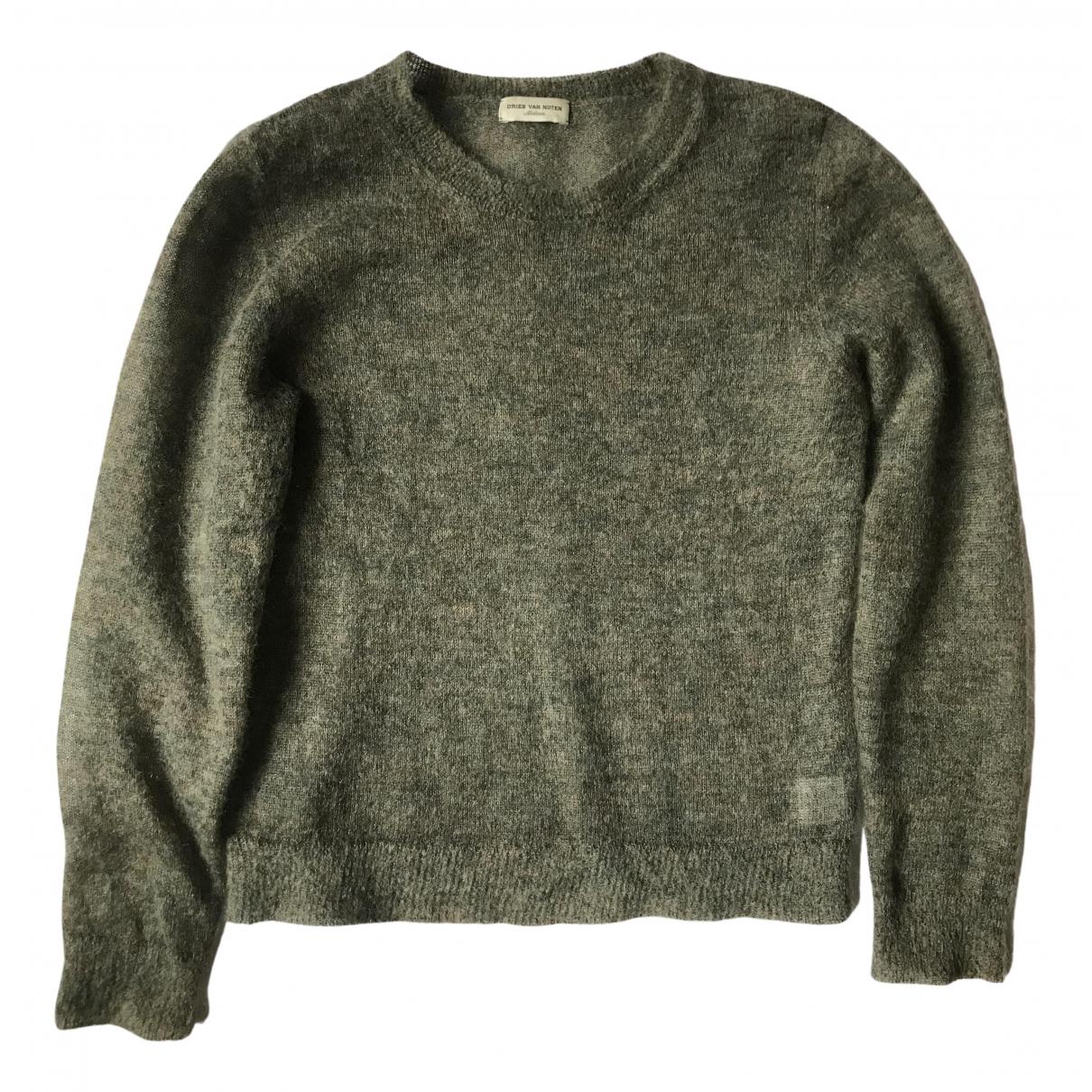 Dries Van Noten - Pull   pour femme en laine - vert
