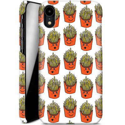 Apple iPhone XR Smartphone Huelle - Happy Fries  von caseable Designs