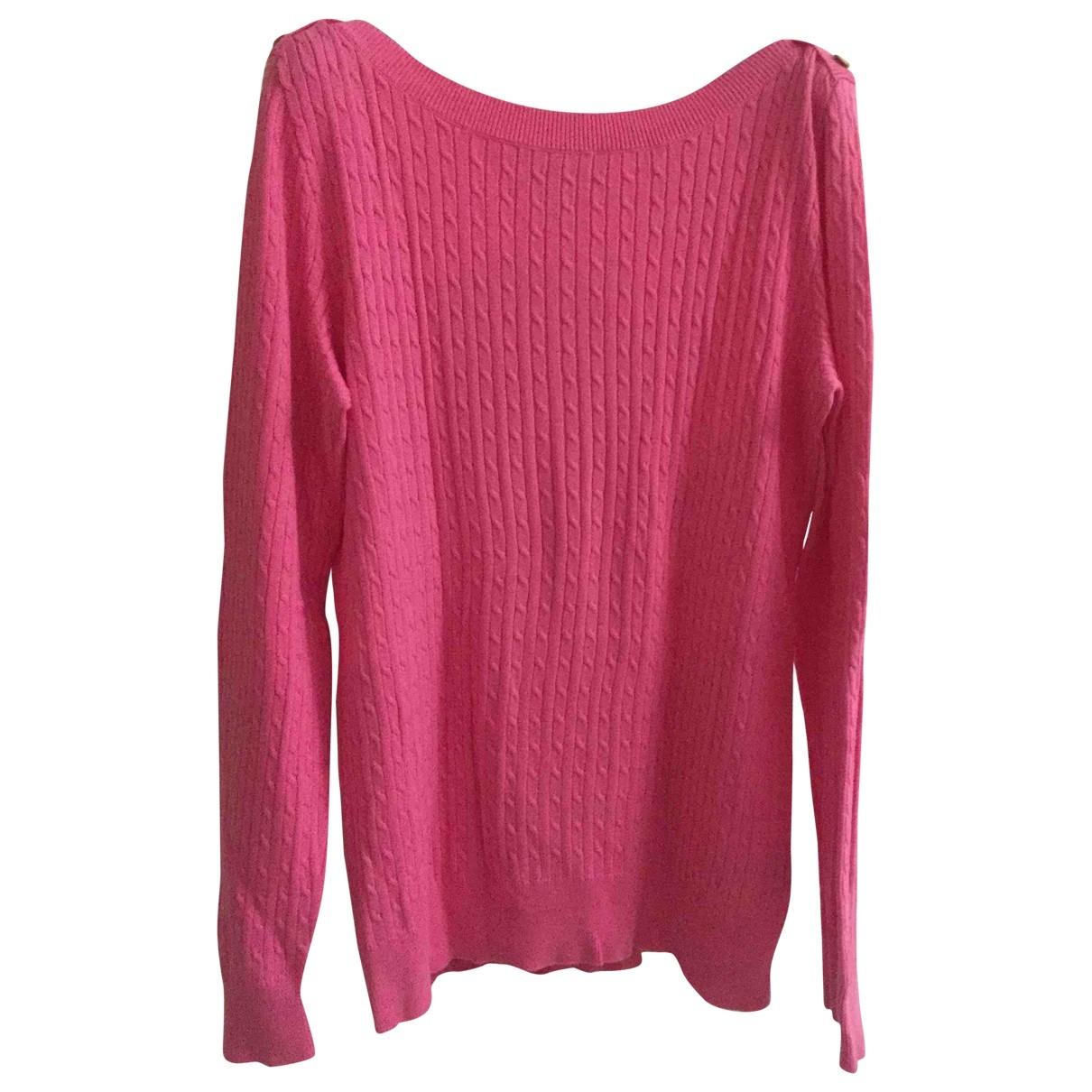 Lauren Ralph Lauren \N Pink Cotton Knitwear for Women XL International
