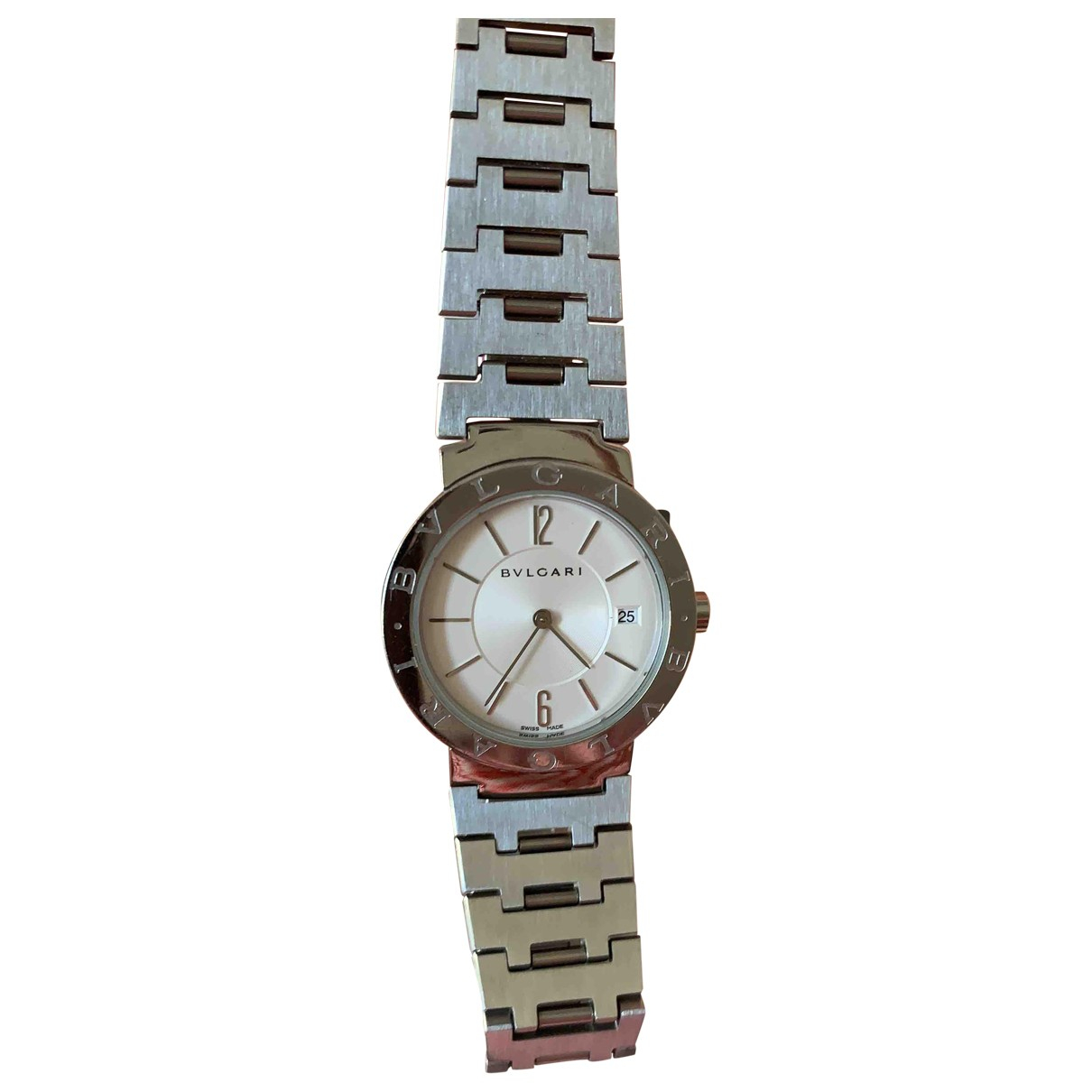 Bvlgari Bulgari Bulgari Uhr in  Silber Stahl