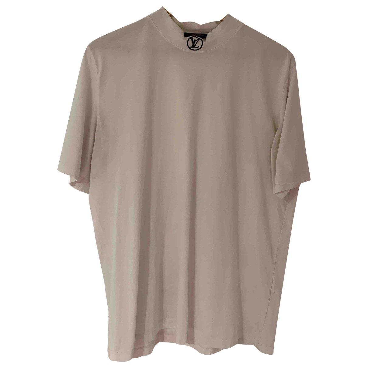 Louis Vuitton \N T-Shirts in  Weiss Baumwolle