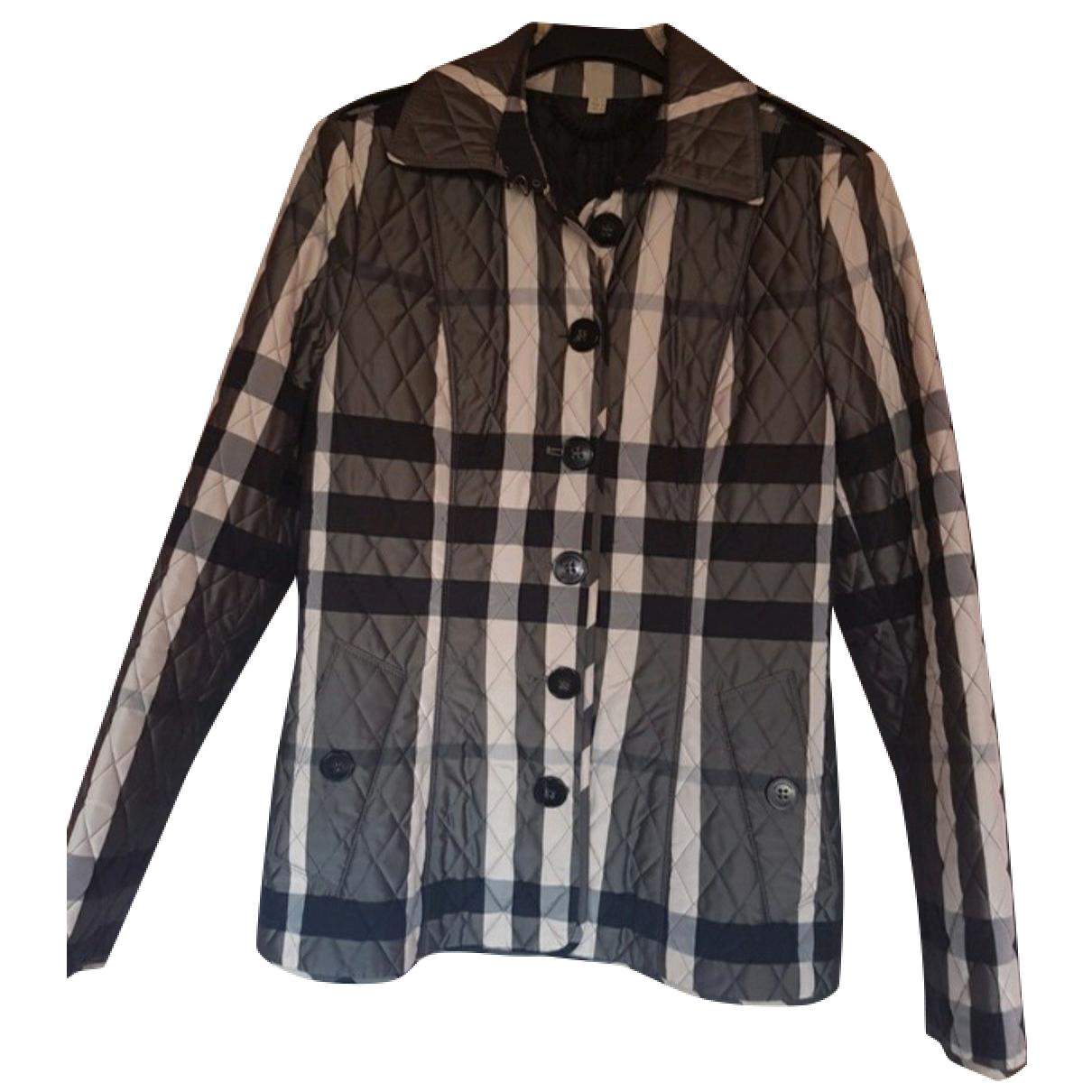 Burberry N Grey Wool jacket for Women 8 UK