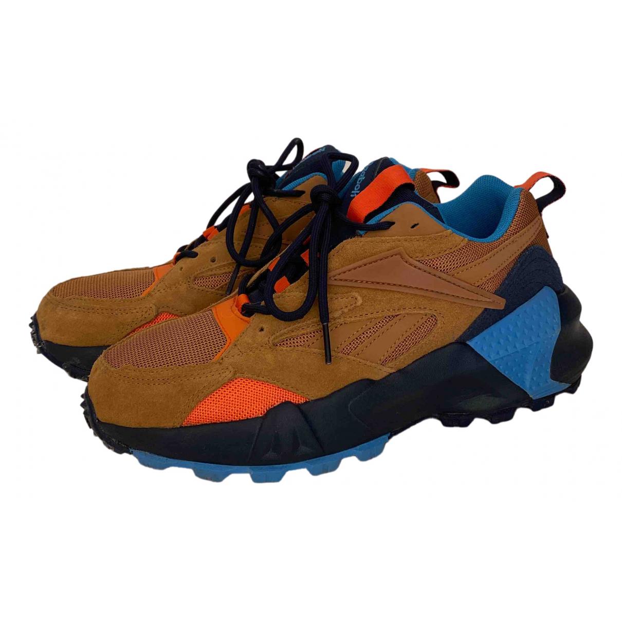 Reebok \N Sneakers in  Kamel Veloursleder