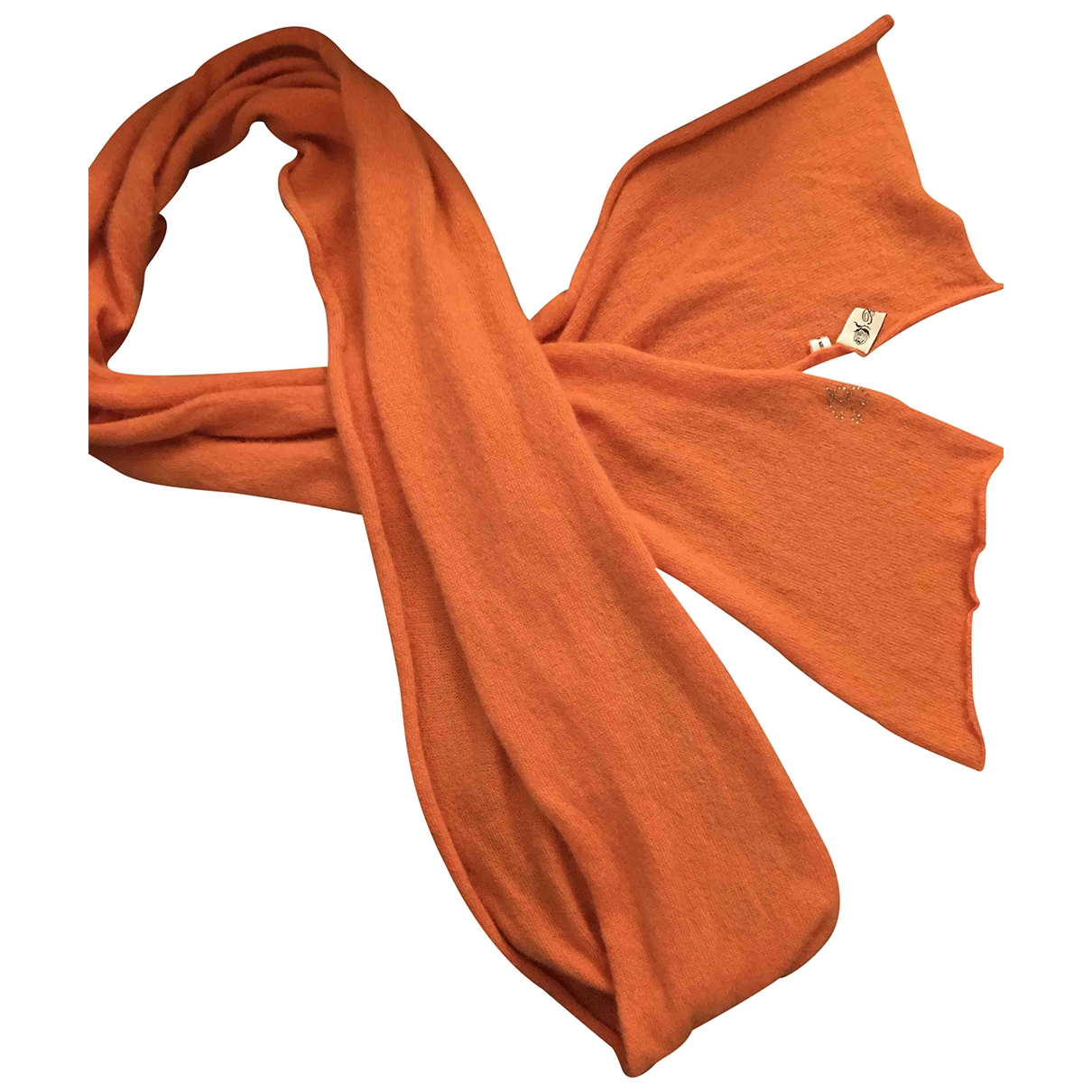 Blumarine \N Orange Cashmere scarf for Kids \N