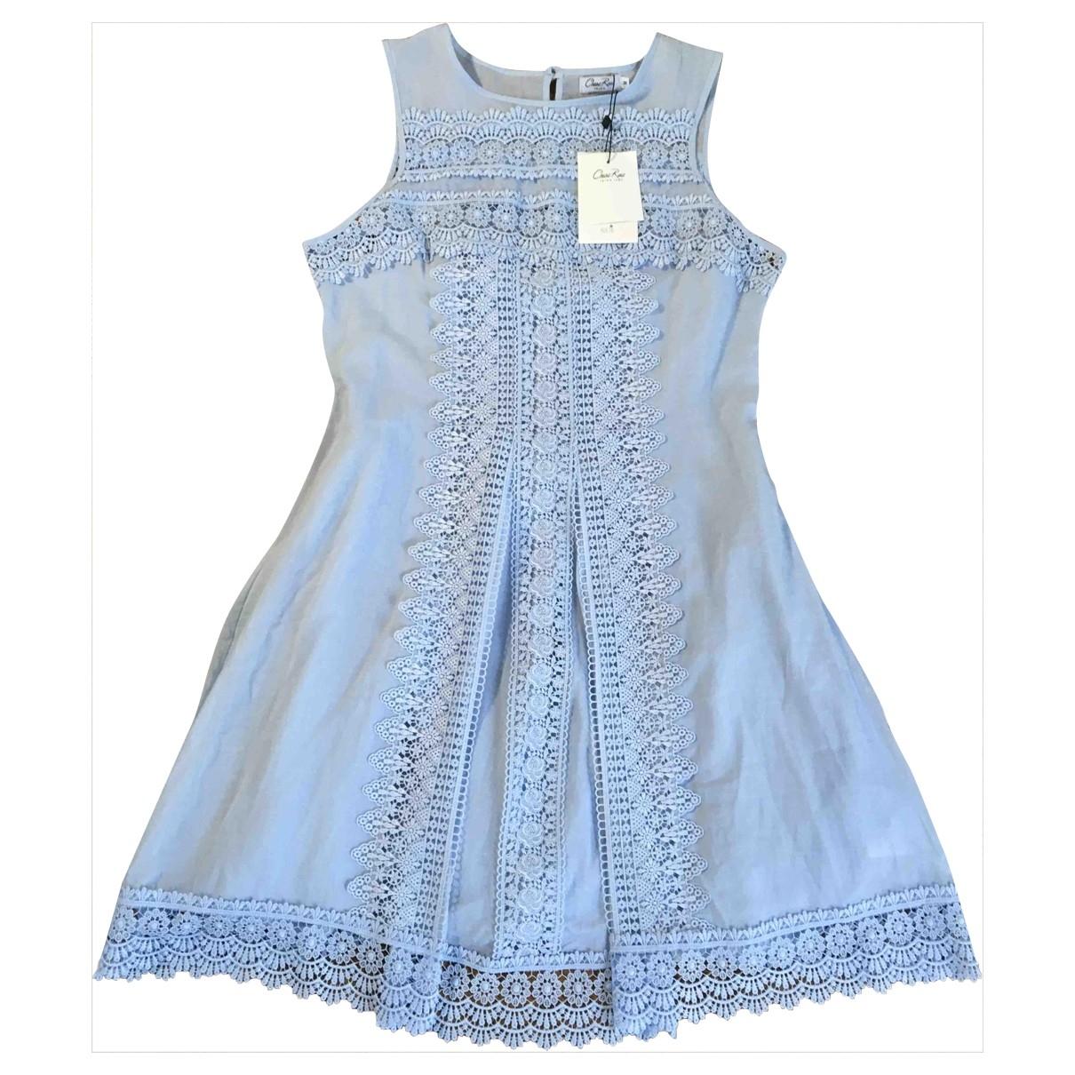 Charo Ruiz \N Kleid in  Blau Baumwolle
