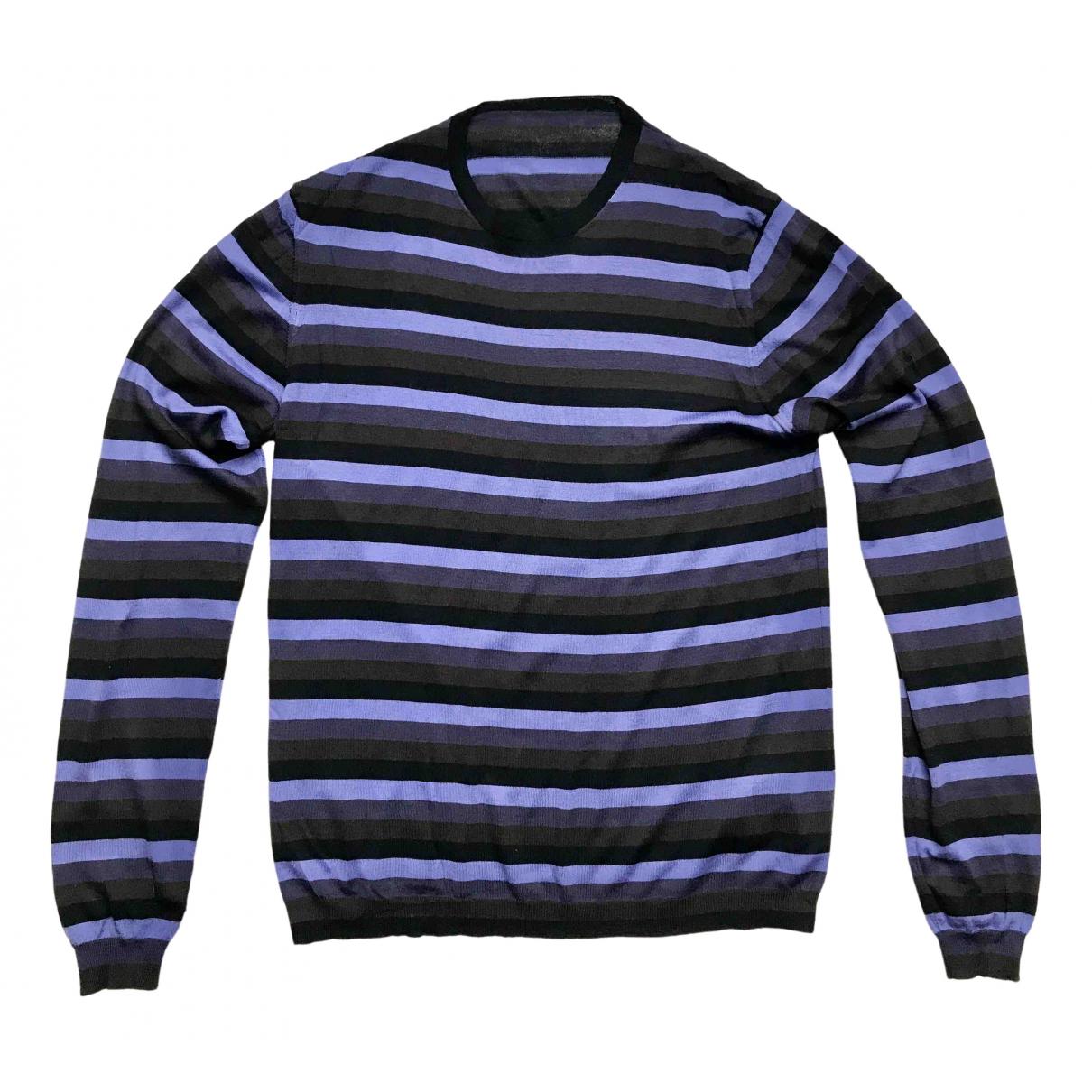 Prada \N Pullover.Westen.Sweatshirts  in  Bunt Wolle
