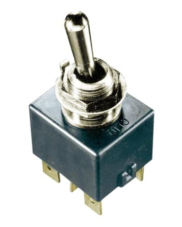 Otto SPST Toggle Switch, On-Off-(On), IP68S, Panel Mount