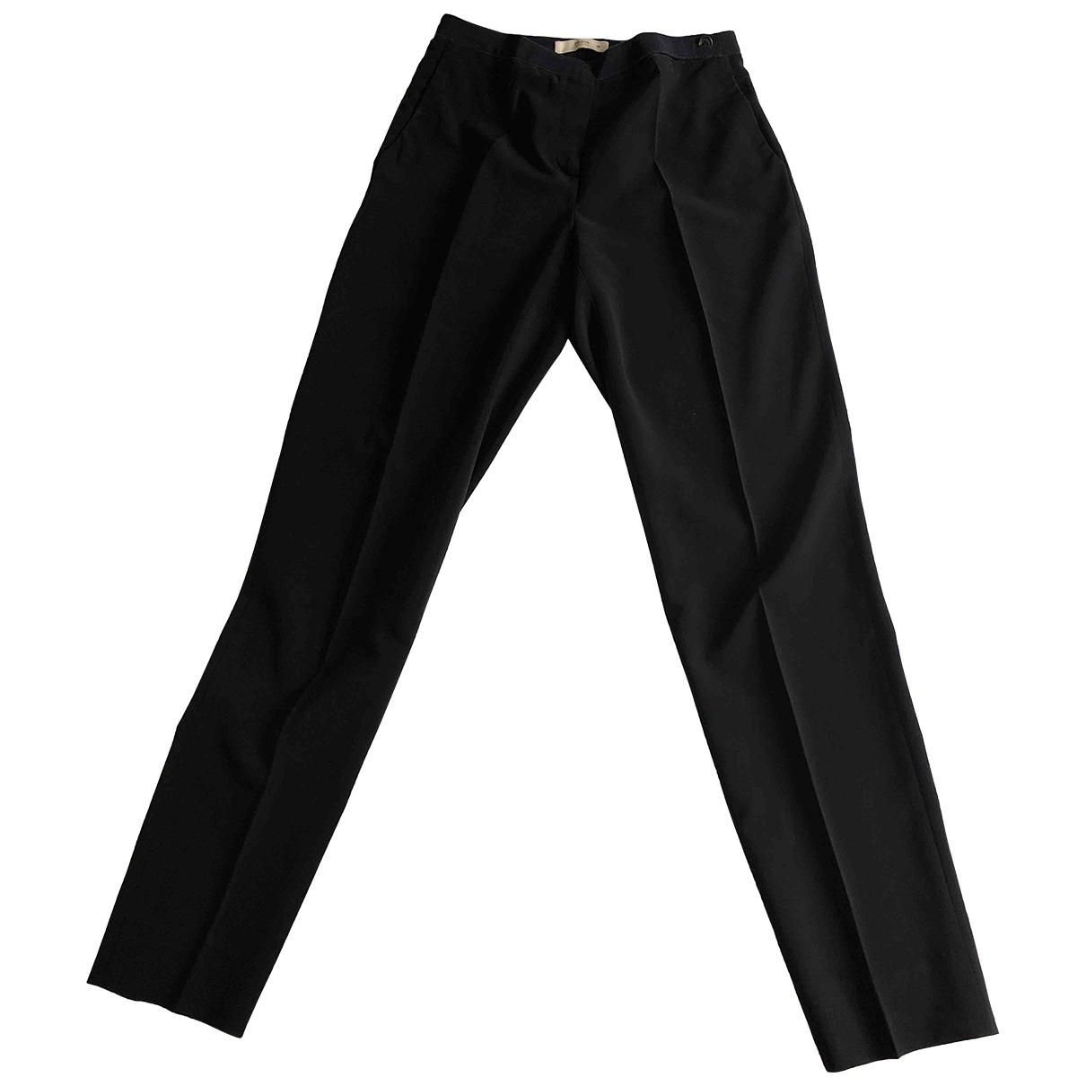 Prada \N Blue Trousers for Women 38 IT