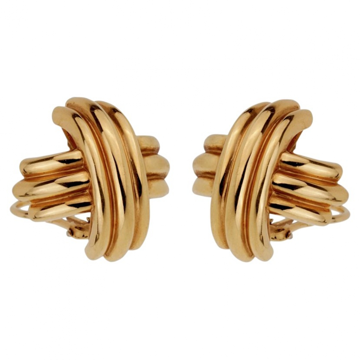 Tiffany & Co \N OhrRing in  Gold Gelbgold
