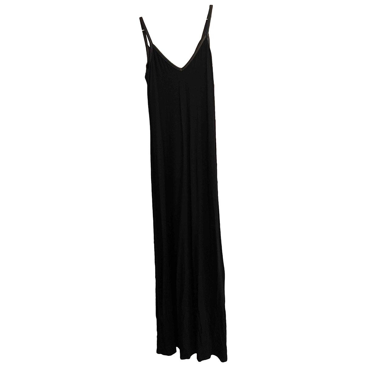 Asos \N Kleid in  Schwarz Viskose