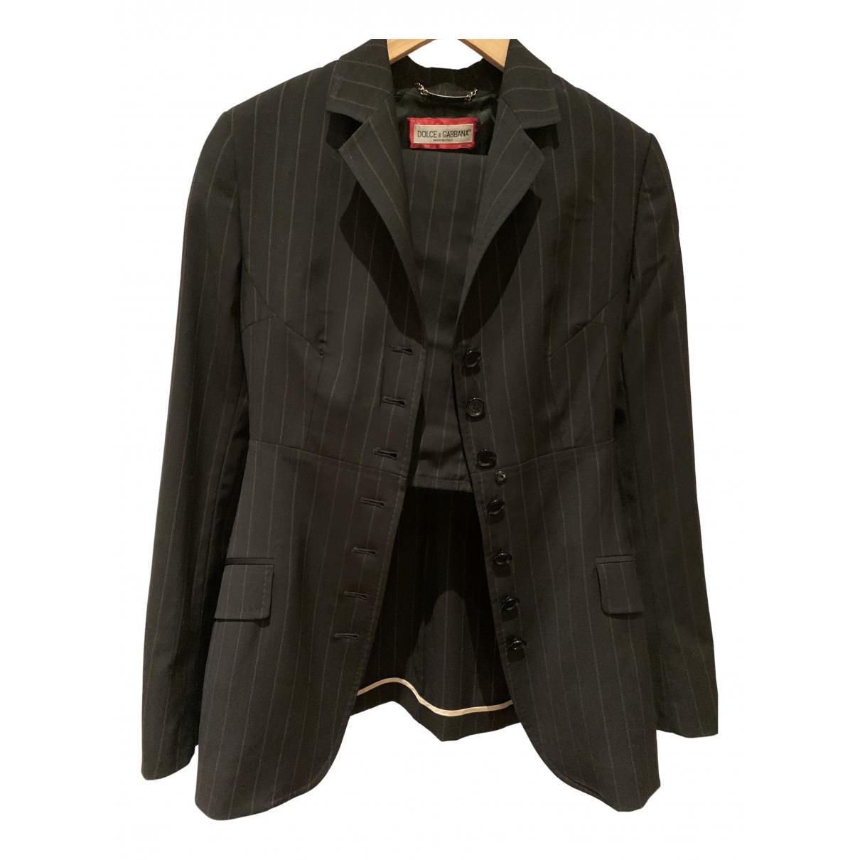 Dolce & Gabbana \N Black Wool jacket for Women 42 IT