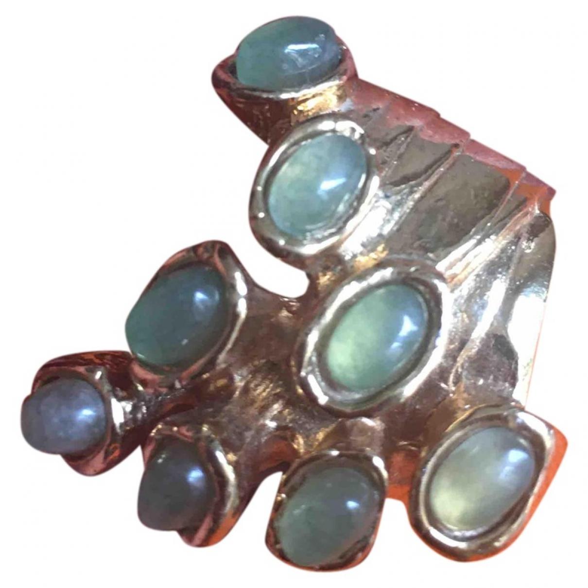 Yves Saint Laurent Arty Ring in  Gruen Metall