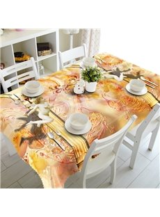 Stylish Phoenix and Angel Prints Dining Room Decoration 3D Tablecloth