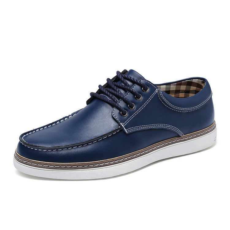 Large Size Men British Style Classic Oxfords Lace Up Casual Shoes