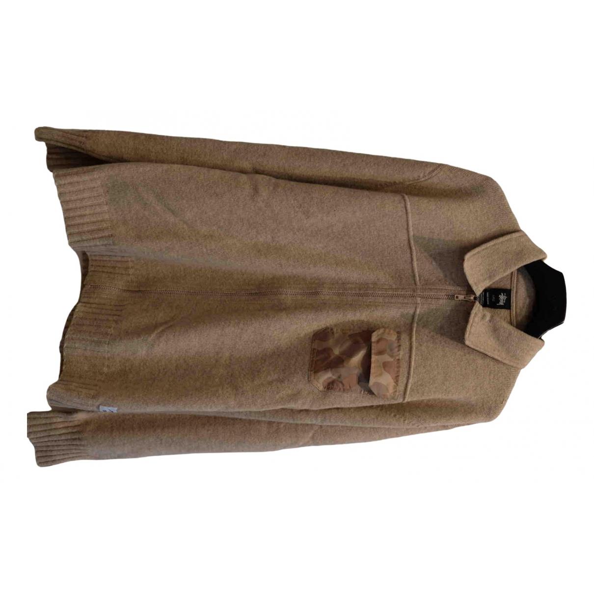 Stussy - Chemises   pour homme en laine - beige