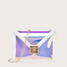 Holographic 2 In 1 Crossbody Bag