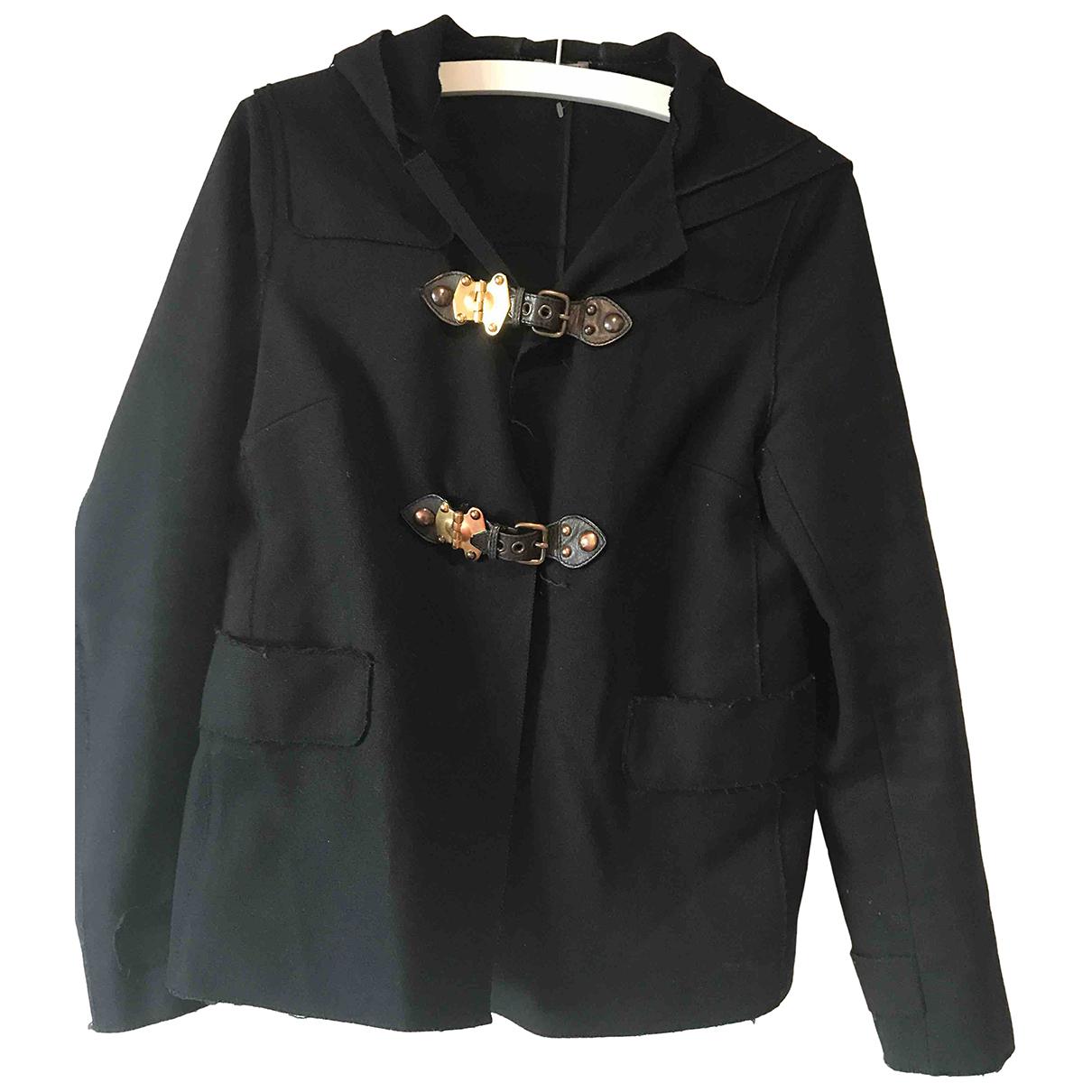Miu Miu N Blue Wool jacket for Women 44 IT
