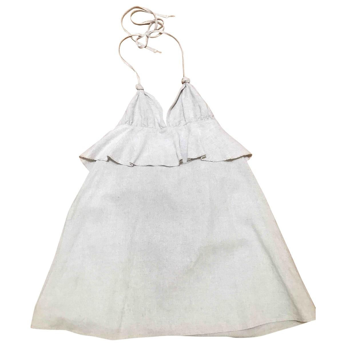 Vestido midi Oversize de Lino Non Signe / Unsigned