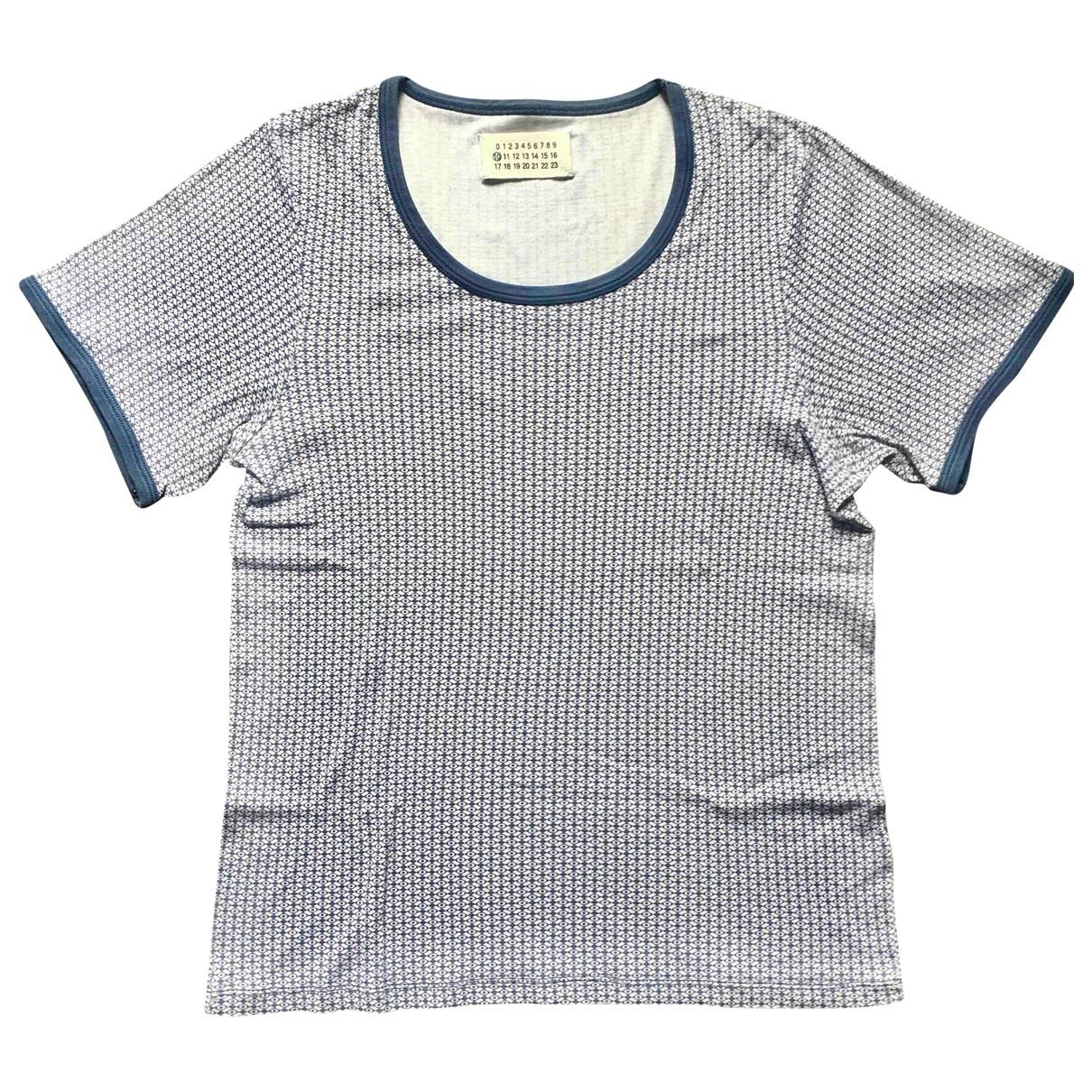 Maison Martin Margiela - Tee shirts   pour homme en coton - bleu