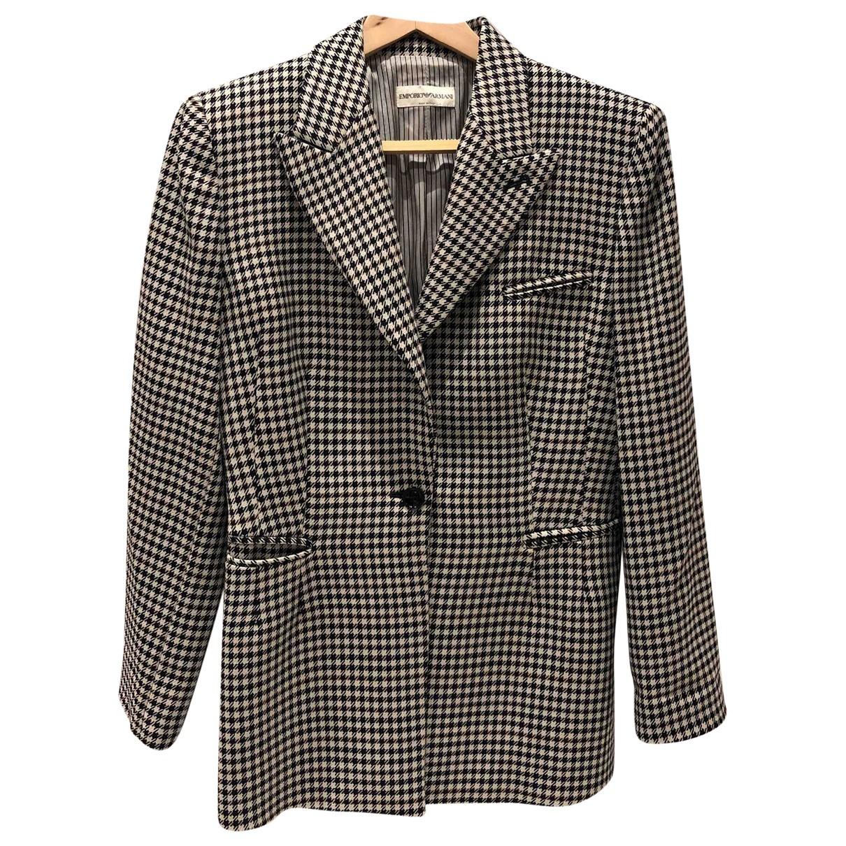 Emporio Armani \N Multicolour Wool jacket for Women 42 IT