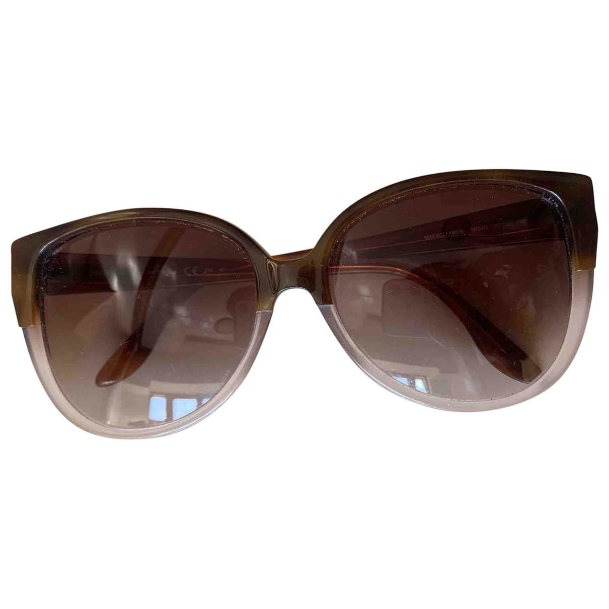 Max & Co \N Sonnenbrillen in  Braun Kunststoff