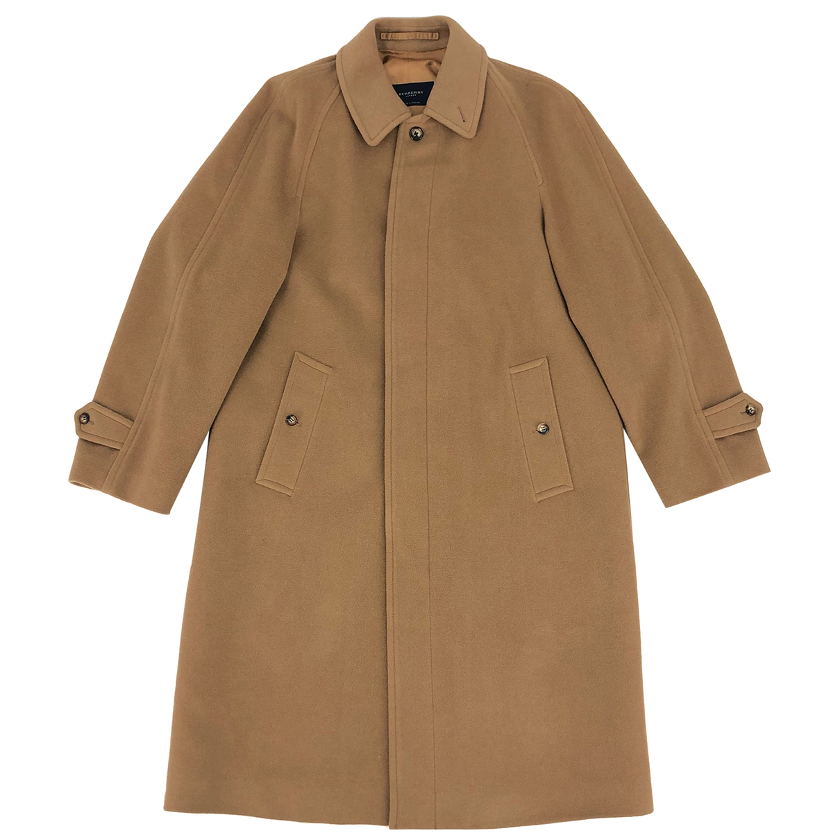 Burberry - Manteau   pour femme en laine - camel