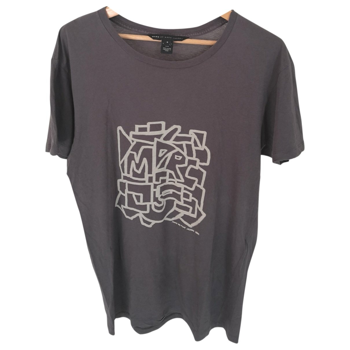 Marc By Marc Jacobs \N Grey Cotton T-shirts for Men S International