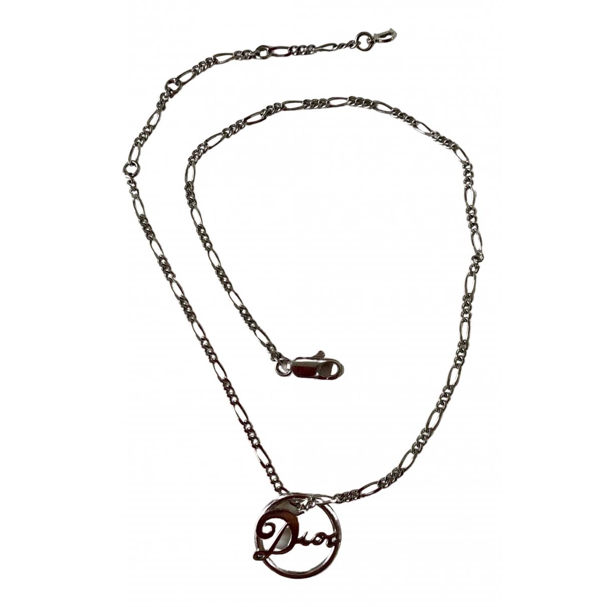Dior Dior Oblique Kette in  Silber Metall