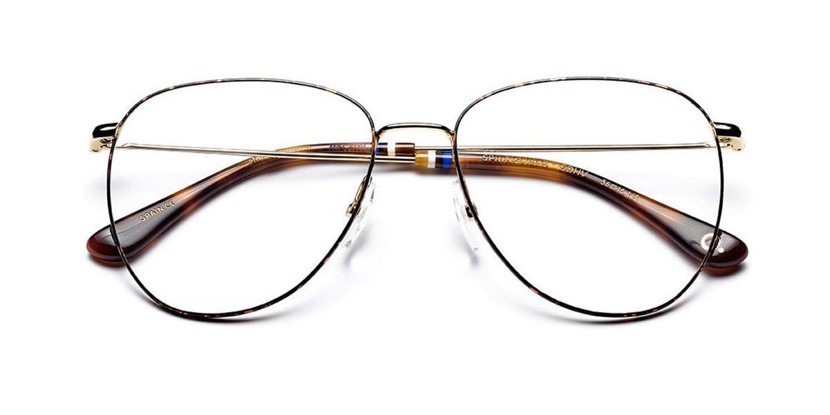 Etnia Barcelona Springfield GDHV Women's Glasses Tortoise Size 56 - Free Lenses - HSA/FSA Insurance - Blue Light Block Available