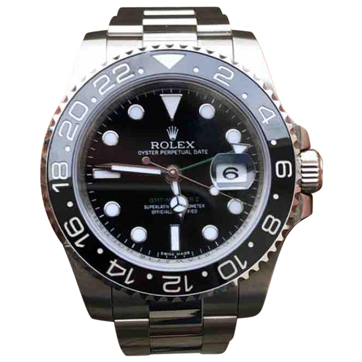 Rolex GMT-Master II Uhr in  Schwarz Stahl