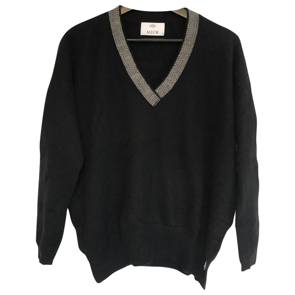 Allude \N Black Wool Knitwear for Women M International