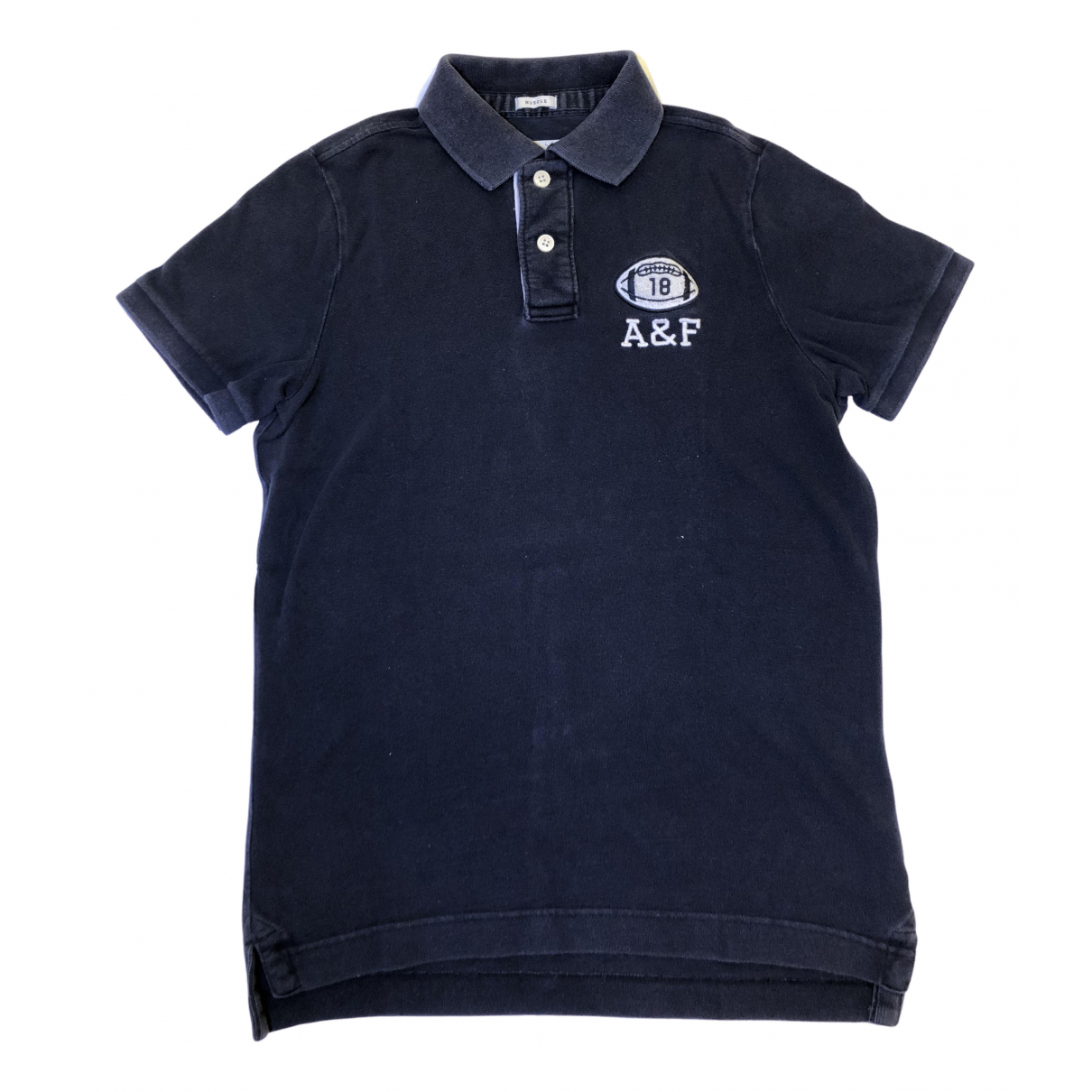 Abercrombie & Fitch \N Blue Cotton Polo shirts for Men M International