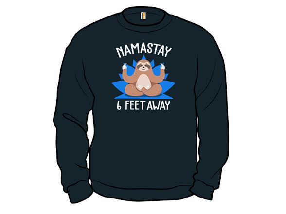 Namastay Back T Shirt