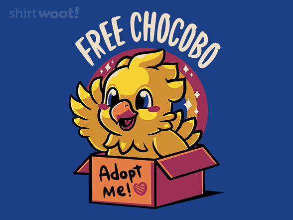 Adopt A Chocobo T Shirt