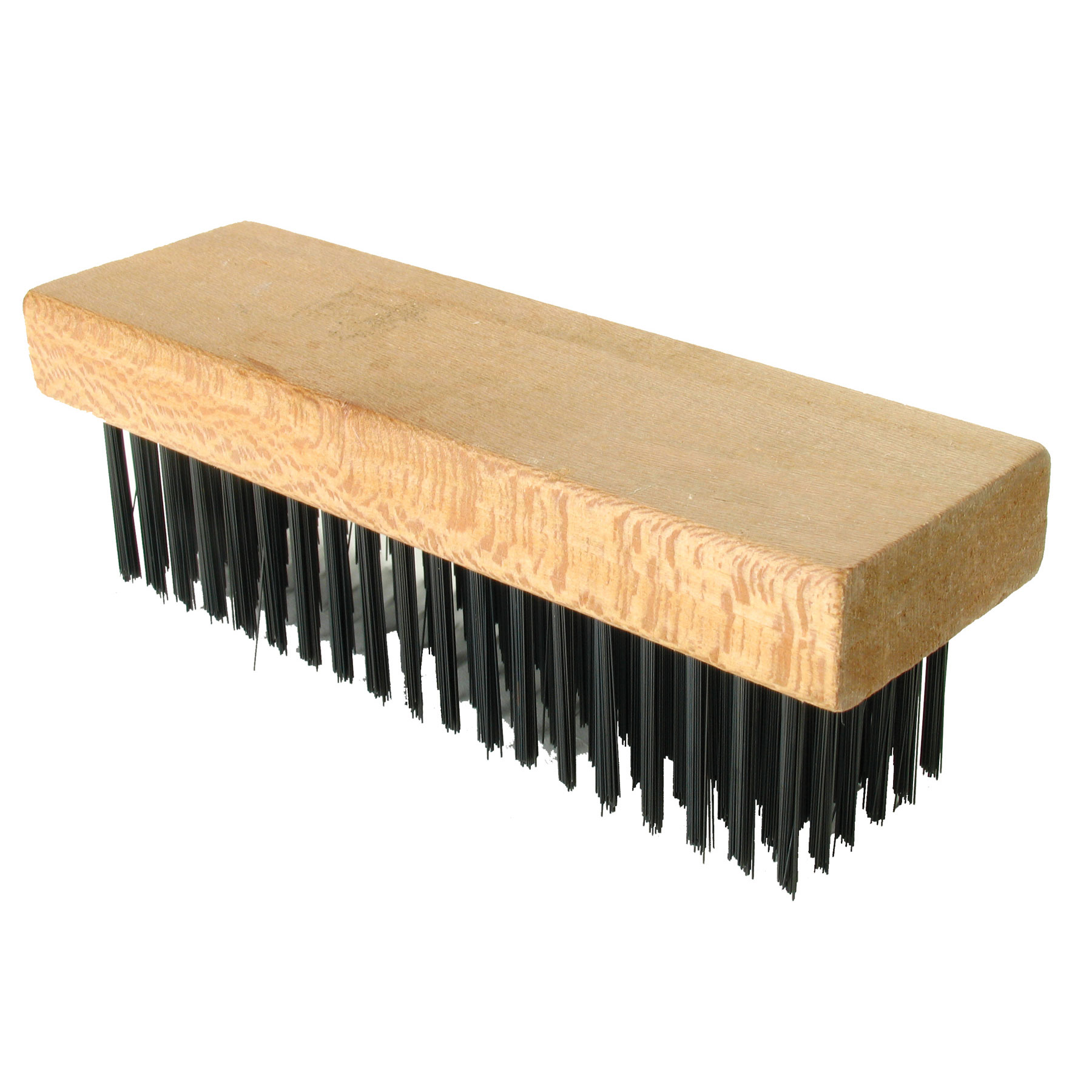 Straight Back Wire Brush, 7-1/8 In x 2-1/4 In