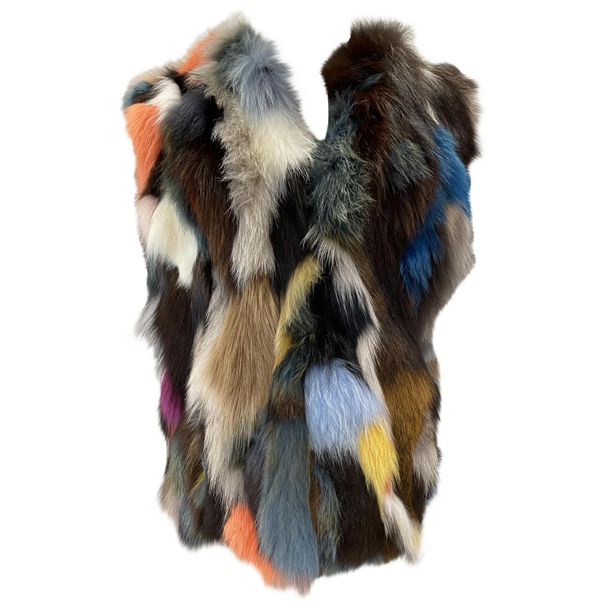 Non Signé / Unsigned \N Multicolour Fox jacket for Women 44 IT