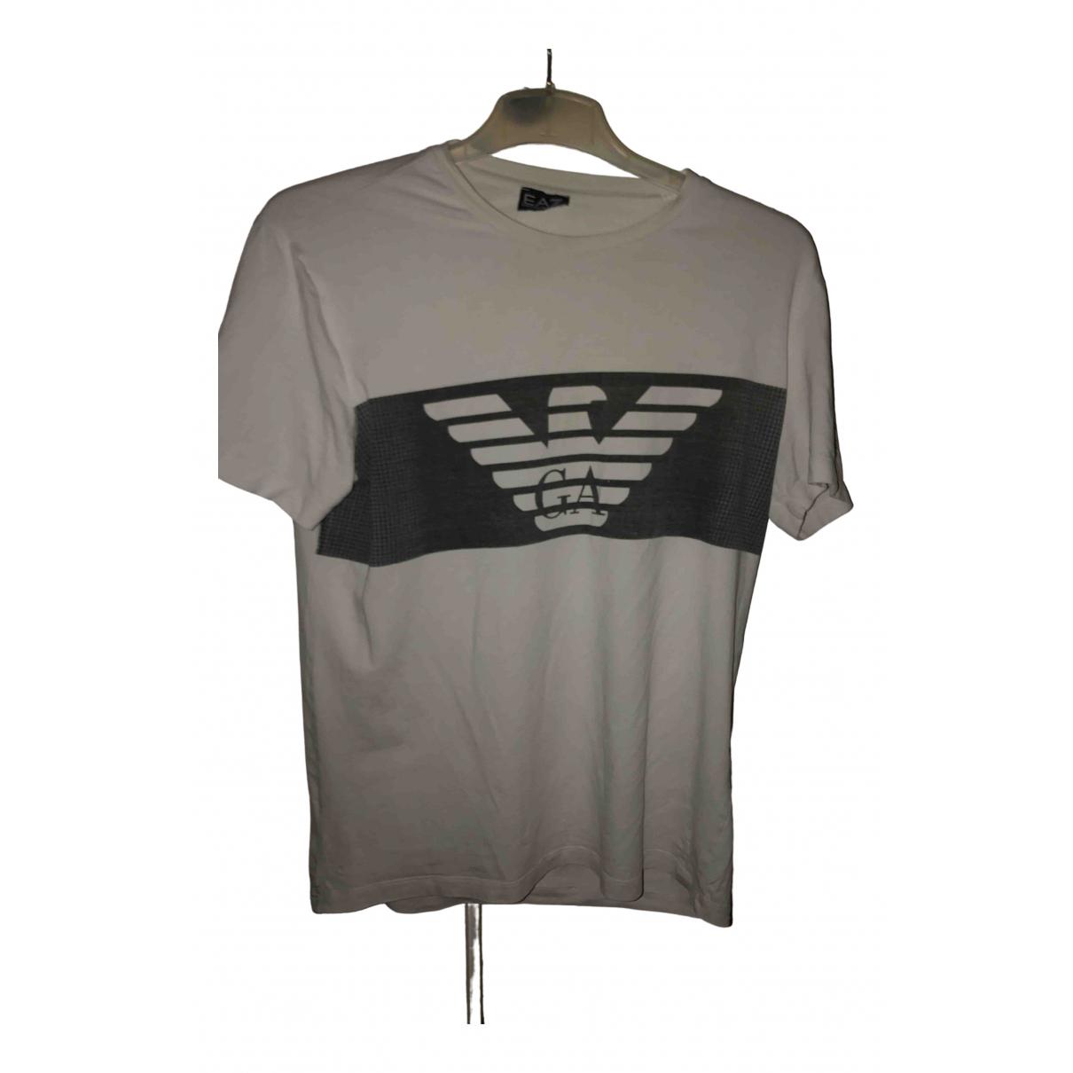 Emporio Armani \N White Cotton T-shirts for Men M International
