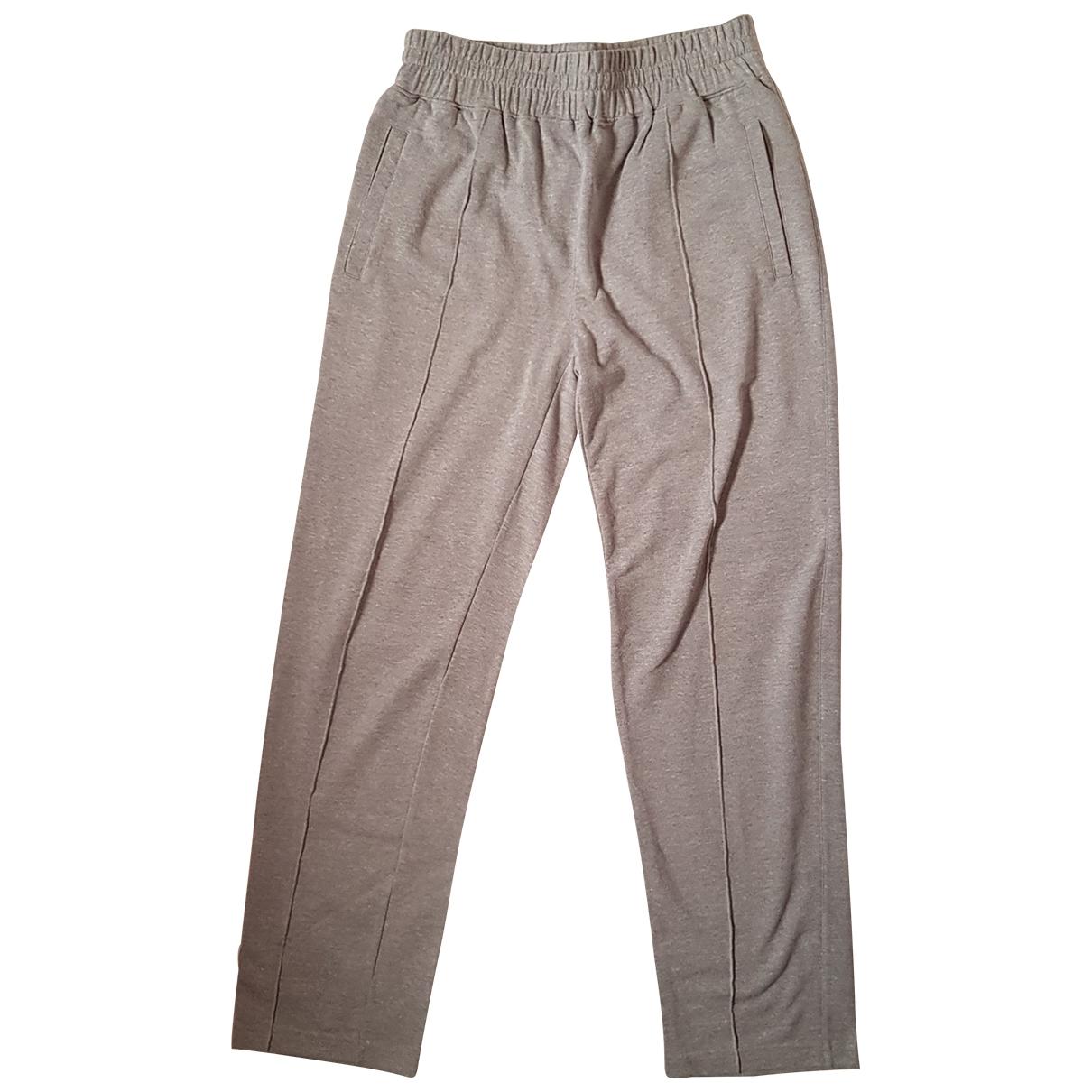 Emporio Armani - Pantalon   pour homme en coton - gris